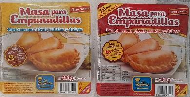 Tapas de Empanadas Los Reyunos. Sin grasa animal